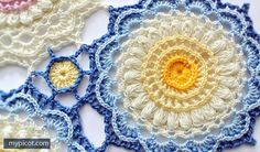 What is the first word that comes to your mind when you look at this pattern? For me is: Sun! 🙂 Get ready for beautiful sunny days with this gorgeous Textured Crochet Motif from my MyPicot. The yellow color in the centre, resembles a sun or a beautiful summer flower, don't you think? On the …