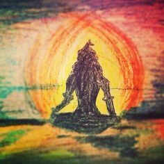 Shiva painting