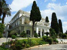 Achilleion Palace, Corfu, Greece