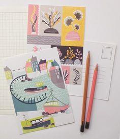 print & pattern: ILLUSTRATION - girls who draw