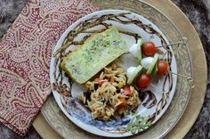 Frittata Loaf, Orzo Salad and Caprese Bites for Brunch Buffet via More Fun Less Laundry