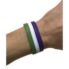 Genderqueer pride bracelet, Genderqueer pride flag bracelet, non... ($21) ❤ liked on Polyvore featuring jewelry, bracelets, string jewelry, cuff bangle bracelet, hinged cuff bracelet, cuff bangle and cocktail jewelry