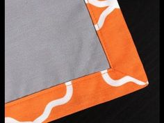 ▶ How to Sew a Reversible Placemat with the Perfect Corner Method - YouTube