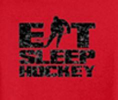 Eat Sleep Hockey tshirt