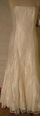 13. cor marfim. parecido a um das fotos ideais. Jessica McClintock Beige Wedding Dress Gown Size 10   eBay