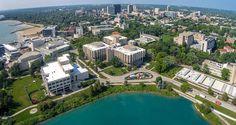 The 50 Most Beautiful Campus Quads - College Rank College Campus, College Fun, Evanston Illinois, City Of God, Northwestern University, Most Beautiful, Urban, Mansions, Education