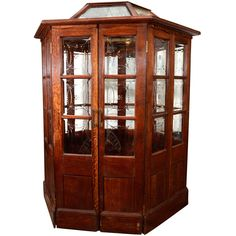 19th Century Oak Booth from London's Crystal Palace, 1851 | From a unique collection of antique and modern architectural elements at https://www.1stdibs.com/furniture/building-garden/architectural-elements/