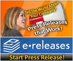 Tell the World about Your Company with eReleases! Get $25 Off Any eReleases writing and/or Distribution by using Coupon Code: CupidLove