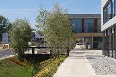 PRIX SPECIAL DU JURY Conseil général de l'Orne pour le Site Universitaire d'Alençon (61 – Basse-Normandie) Une approche paysagère simple et fonctionnelle pour donner de la cohérence à un campus universitaire situé en zone rurale.