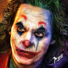 Photoshop illustration of Joaquin Phoenix as failed comedian Arthur Fleck who becomes the criminal mastermind known as the Joker. Joker Videos, Joker Painting, Joker Drawings, Joker Poster, Joker Images, Joker Face, Joker Wallpapers, Batman Universe, Joaquin Phoenix
