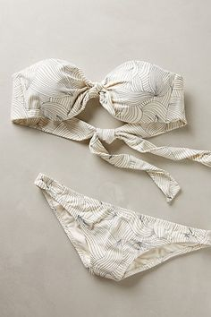 Eberjey Sylvan Bandeau Top #anthrofave #anthropologie.com