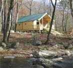 Conestoga Log Cabins:  Outdoorsman 14.7x21