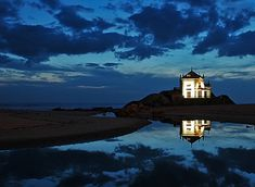 Capela do Senhor da Pedra, Praia de Miramar, Arcozelo, Portugal
