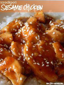 Recipe Swagger: Crockpot Sesame Chicken