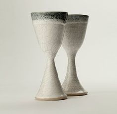 Cone as the base/stem with a bowed out cup on top. good goblet shape. Goblets €30 – Lynda Gault Ceramics | followpics.co