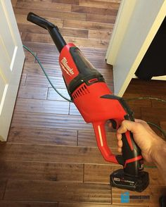 Keeping the jobsite clean with this little guy from @milwaukeetool.  Perfect for collecting dust from minor tasks where the big vacuum is a bit overkill. A clean jobsite means a safer working environment for the crew and safety is ALWAYS a top priority. #moorestownconstruction #moorestown #milwaukee #vacuum #cordless #m12 #safetyfirst