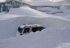 Kotzebue Alaska Snow 2008-2009