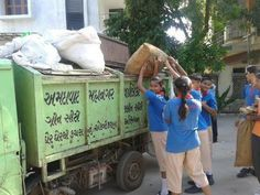 Swachch Bharat Campaign -CPS Ghatlodia