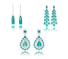 Emerald earrings from Chopard