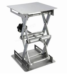 """- Minimum height = 1 3/4"""" - Designed for supporting glassware and other lab items at a stable and precise height - It can extend to a maximum height of 6"""" - Weight capacity 15ξpounds, Made of stainle"""