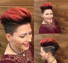 Sidecut Frisuren? Eine Seite abrasieren …, hast Du den Mut solch eine coole Frisur zu tragen? - Seite 8 von 10 - Neue Frisur