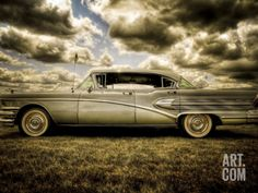 Vintage Trucks Metal Print: 58 Roadmaster by Stephen Arens : - Hdr Photography, Vintage Photography, Classic Chevy Trucks, Classic Cars, Volkswagen, Buick Roadmaster, Vintage Trucks, Vintage Bicycles, American Muscle Cars