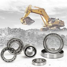 The quality and performance of our CTP Bearings for Komatsu allow your machinery to move at extremely high speeds and carry remarkable loads with ease and efficiency. Used Equipment, Heavy Equipment, Tractor Parts, Heavy Machinery, Sale Promotion, Spare Parts, Caterpillar, Tractors, Twitter