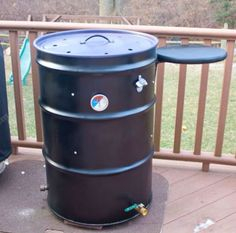 BBQ Beef Brisket on the Pit Barrel Cooker is easy to do. The easiest way to smoke BBQ Brisket is on this smoker. Here's my easy method of smoking brisket on the PBC. Uds Smoker, Barrel Smoker, Ugly Drum Smoker, 55 Gallon Drum Smoker, Build A Smoker, Pit Barrel Cooker, Smoker Designs, Diy Drums, Homemade Smoker