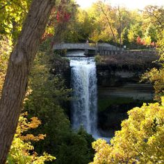 Minnehaha Falls - get away from the bustle of downdown at Minnehaha Park, view the falls and hike the trails down to the Mississippi River. You'll forget you're in the middle of a city.