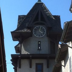 Clock tower Biltmore Winery
