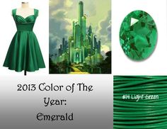 #Pantone color of the year for 2013 - #emerald. We love it!