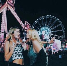 Amusement park #girls #fun #tumblr