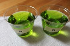 Students use food coloring and water to make different size mixtures of the exact same color using equivalent ratios. Great hands-on activity!