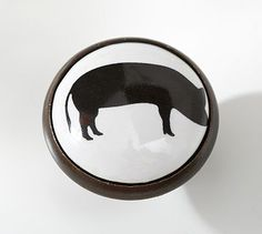 Farm Animal Pig (Cow And Rooster) Knob #potterybarn