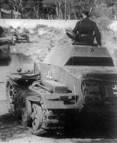 Panzerkampfwagen II neue Art verstärkt (V. Panzer Ii, Mg 34, Ww2 Photos, Photos Du, Old Tractors, New Trucks, Armored Vehicles, War Machine, Second World