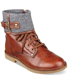 e2ae72961be Tommy Hilfiger Women s Nahla Cuff Booties   Reviews - Boots - Shoes - Macy s