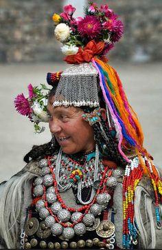 Drokpa woman from Ladakh