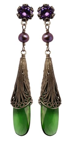 I hardly wear earrings... But I must have these. by Yvone Christa