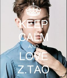 KEEP CALM AND LOVE Z.TAO - KEEP CALM AND CARRY ON Image Generator