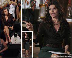 Looks de Ivana, Noêmia, Suelen e verônica na semana de 16 a 21 de abril na novela Avenida Brasil