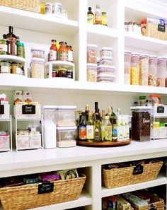 A lazy susan is ideal for oils, sauces and other condiments. Image: Instagram @t... - Pantry organisation: Kitchen-envy cupboard ideas