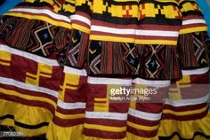 Colorful Seminole Skirt. Photo by Marilyn Angel Wynn