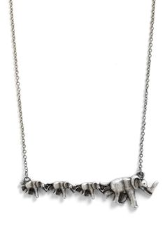 Elephant necklace- Mod Cloth is fantastic!