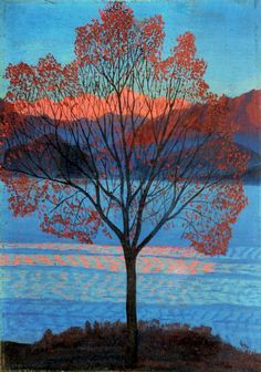 ymutate: Luigi Russolo 1885-1947 Landscape at the First Rays...