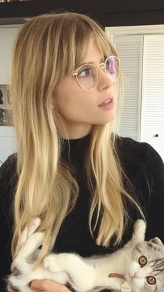 Cute bangs - Beauty Home , Cute bangs - Beauty Home , You can find Bangs and more on our website.Cute bangs - Beauty Home , Cute bangs - Beauty Home , Blonde Hair With Bangs, Blonde Fringe, Bangs Long Hair, Blonde With Glasses, Bangs And Glasses, Blonde Balayage, Fringe With Long Hair, Blonde Hair Bangs, Side Fringe Bangs