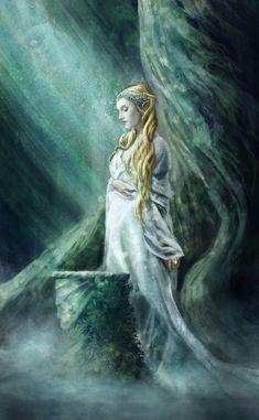 Галадриэль   The Mirror Of Galadriel by Holmes-JA on DeviantArt