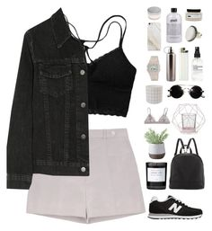 """""""Dusk pink"""" by f-resh ❤ liked on Polyvore featuring Rochas, Bloomingville, J Brand, New Balance, Poverty Flats, Byredo, Torre & Tagus, People Tree, philosophy and Samsung"""