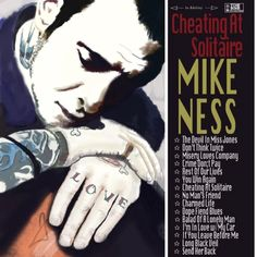 Photoshop Mike Ness painting.