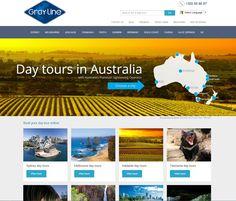 Brand new website!  We've got a brand new website with all our day tours around Australia including New Zealand!  www.grayline.com.au