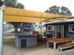 The updated area outside A Block Kitchen Park, Outdoor Decor, Kitchen, Home Decor, Cooking, Decoration Home, Room Decor, Kitchens, Parks